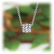 Movement Bead Hand Carved Sterling Silver Jewelry