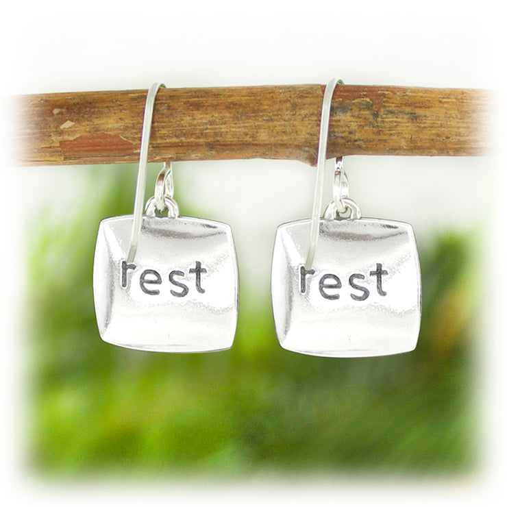 Courage Series Earrings - Rest