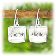 Courage Series Earrings - Shelter