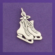 Winter Charms - Silver Skates