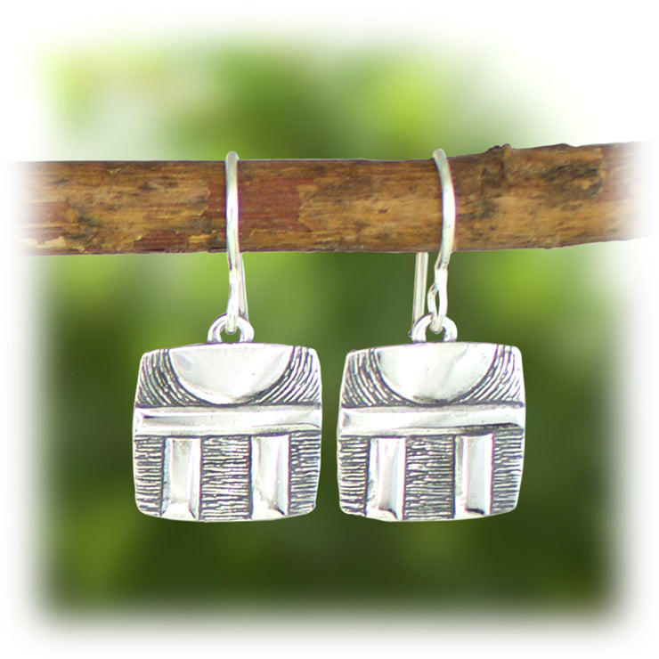 Courage Series Earrings - Strength