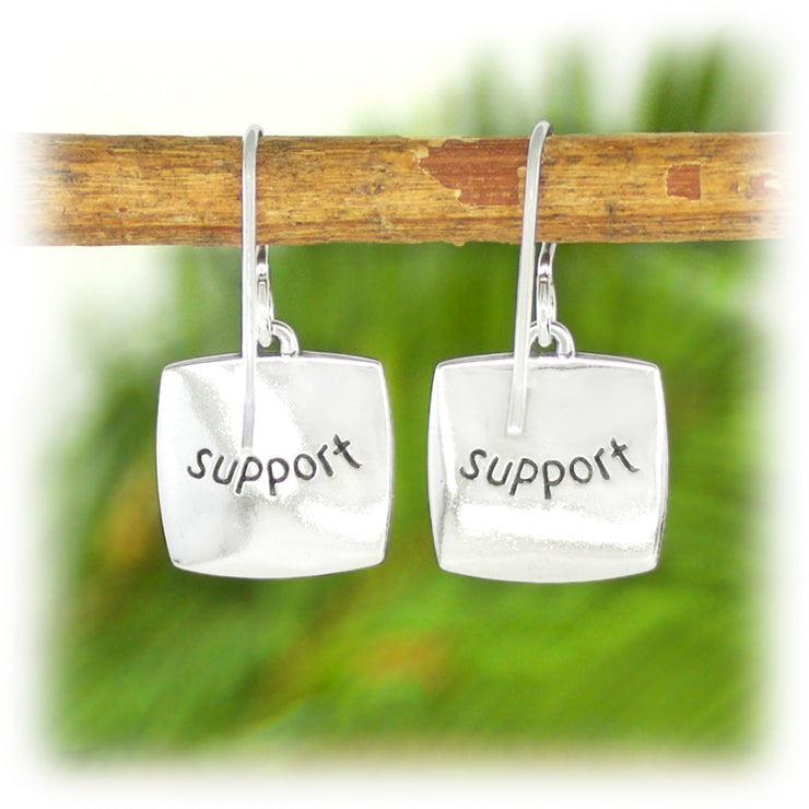 Courage Series Earrings - Support