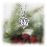 True Love Heart Charm Handmade Sterling Silver Jewelry