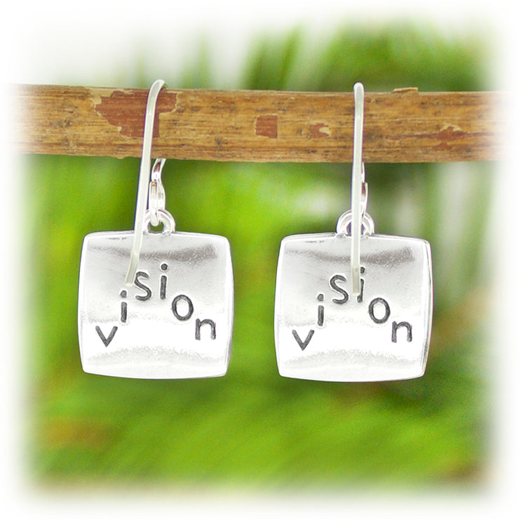 Courage Series Earrings - Vision