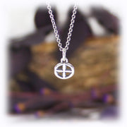 Earth Charm Astrology Hand Carved Sterling Silver Jewelry