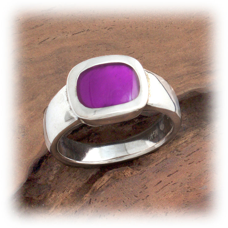 Resin Pool of Color Ring, Square