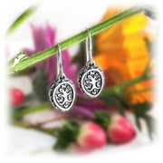 Compass Tree Earrings