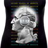 United Sounds of America (Women's V-Neck Tee)