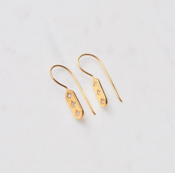 Estella Bar Earrings in Gold SOLD OUT