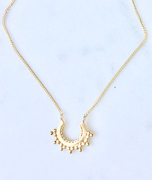 Sashi Necklace in gold