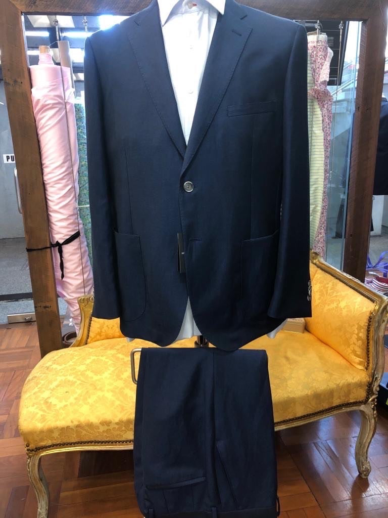 Men's Pharell Blue Suit