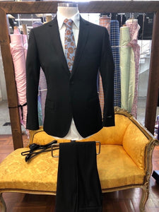 Men's Pharell Charcoal Suit