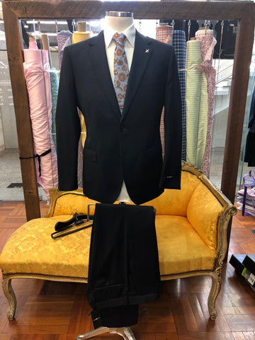 Men's Maurice Navy Twill Suit
