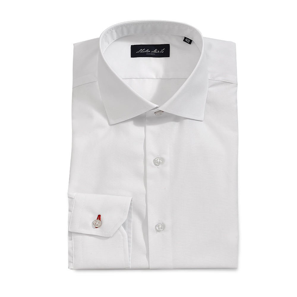 Men's Poplin Shirt White
