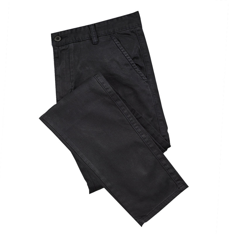 Men's Black Chino