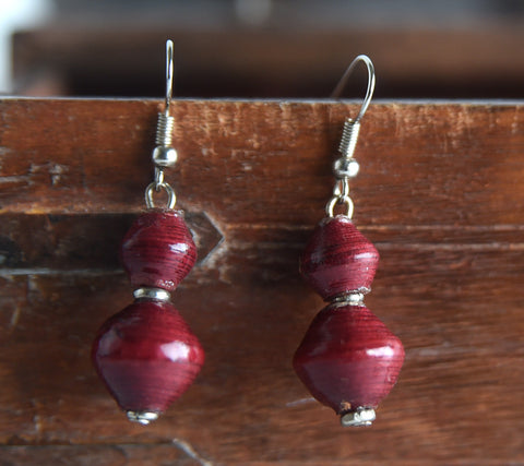 Two Bead Earrings