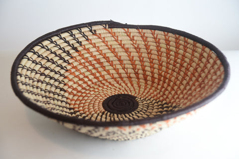 Handwoven Raffia Baskets (large)