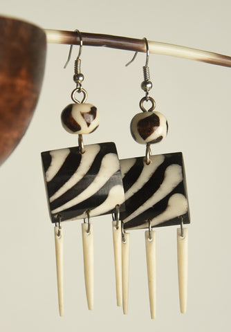 Fancy Bone Earrings