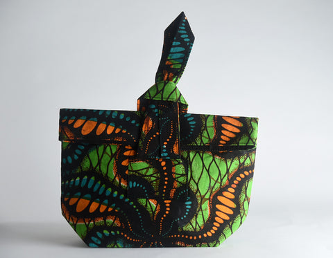Okello Fold-Over Clutch