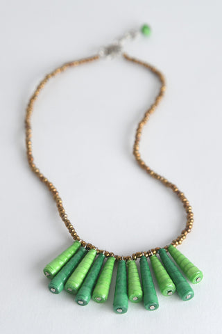 Mbali (like a flower):  Necklace