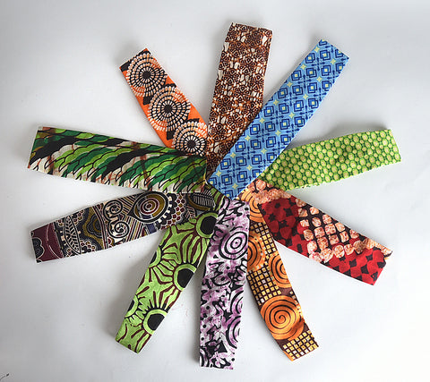 Set of 10 headbands