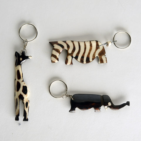 Bone Keyrings