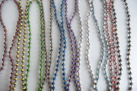 Set of 10 Long Necklaces
