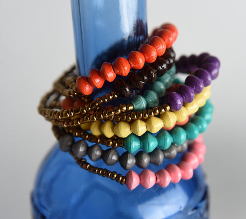 Namakula Set of 10 Single Bracelets