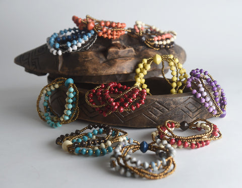 Namakula Triple Bracelets Set of 10