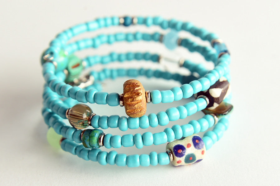 Memory Wire Bracelets - Project Have Hope