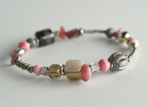 Ayat Mixed Media Stretch Bracelet