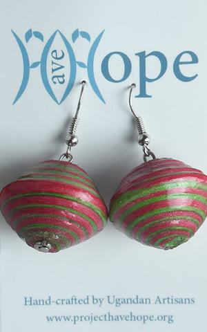 Large Bead Earrings