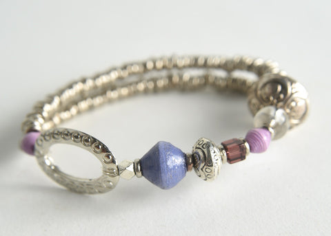 Kyagaza (beauty is in one's deeds) Collection:  Bracelet
