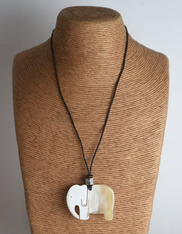 Ankole Cow Horn Necklace