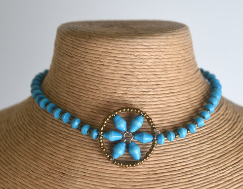 Bariki (Flower) Choker Necklace