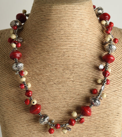 Sanaa (piece of art) Collection:  Necklace