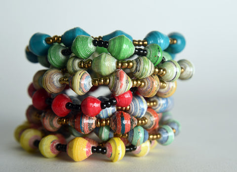 Stretch Bracelets Set of 10