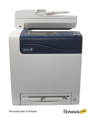 Xerox WorkCentre 6505DN Multifunction Color Laser Printer, Copy/Fax/Print/Scan