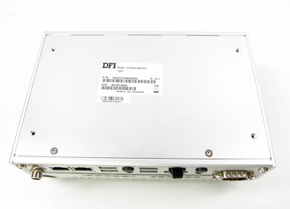 DFI EC70A-SU Fanless Embedded System | Intel Core i3-6100U 2.3GHz | 256GB SSD - Bonanza Deals