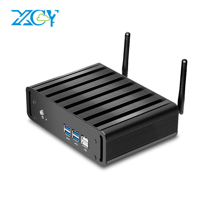 XCY Mini PC Intel Core i7 5500U i5 5200U i3 5005U Mini Desktop Gaming PC HTPC TV BOX HDMI VGA WIFI Windows 10 Nettop