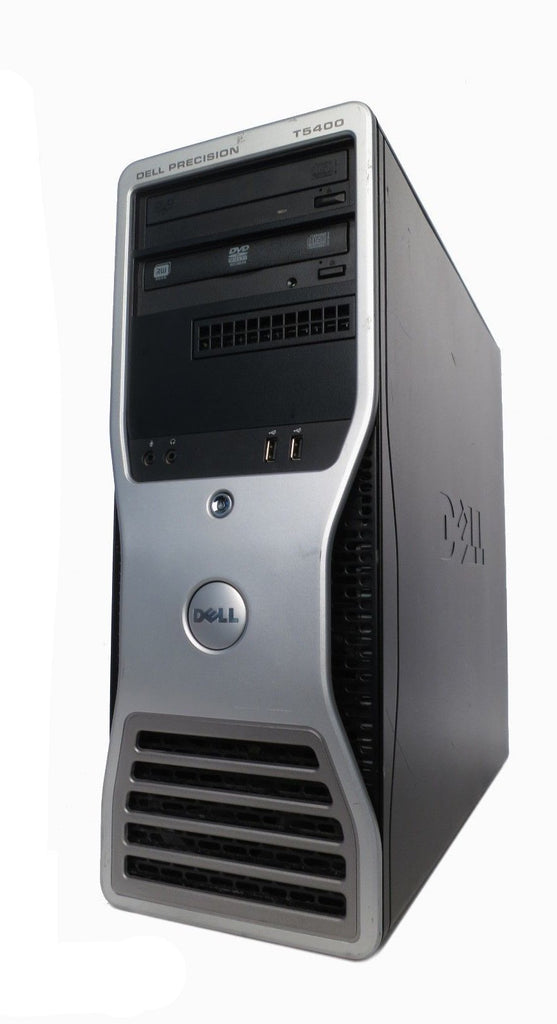 Dell PRECISION T5400 | 2x (X5450 3.00GHz), 32GB RAM, 1TB WIN7 DEDICATED GRAPHICS - Bonanza Deals