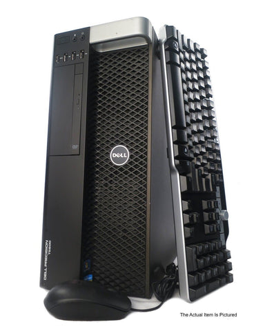 Dell Precision T5600 | 2x (Xeon E5-2650 8-Core) | 64GB RAM | 500GB SSD | 3TB HDD - Bonanza Deals