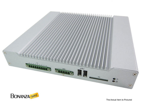 DFI DS910-CD2800 USFF Fanless Embedded Computer | Intel Atom N2800 | 128GB SDD - Bonanza Deals
