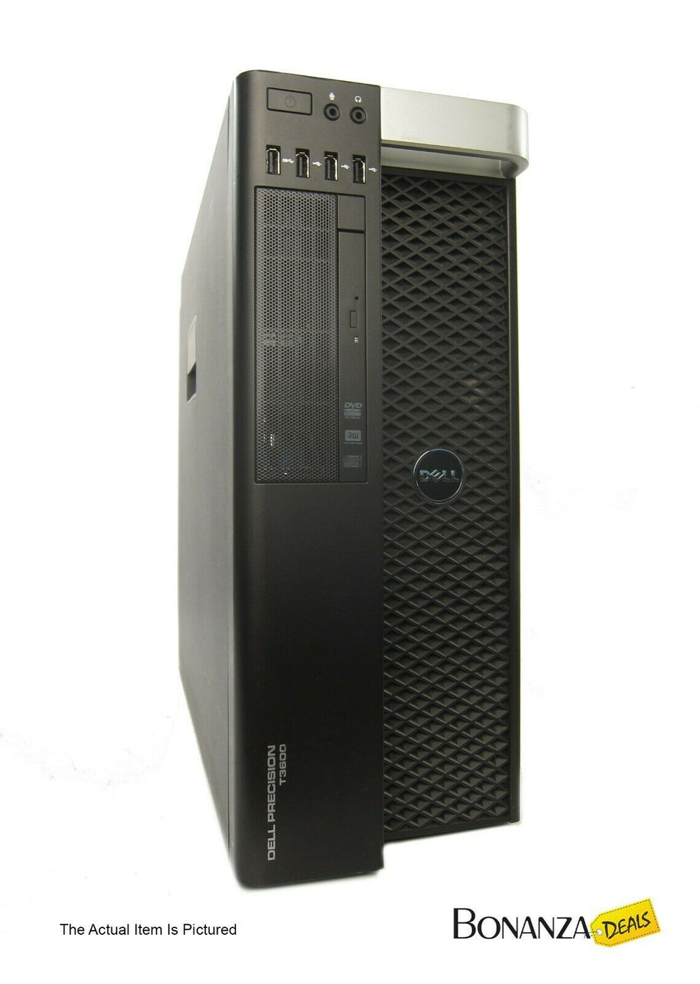 Dell Precision T3600 Workstation Xeon E5-1650 6-Core 3.2GHz 32GB 2TB Quadro K2200 - Bonanza Deals