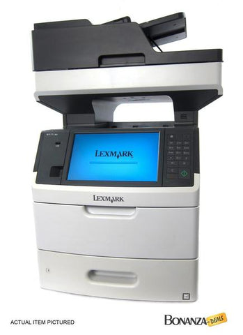 Lexmark MX711DHE MX711 MX711DE Multifunction Laser All-In-One Printer FAX 320GB