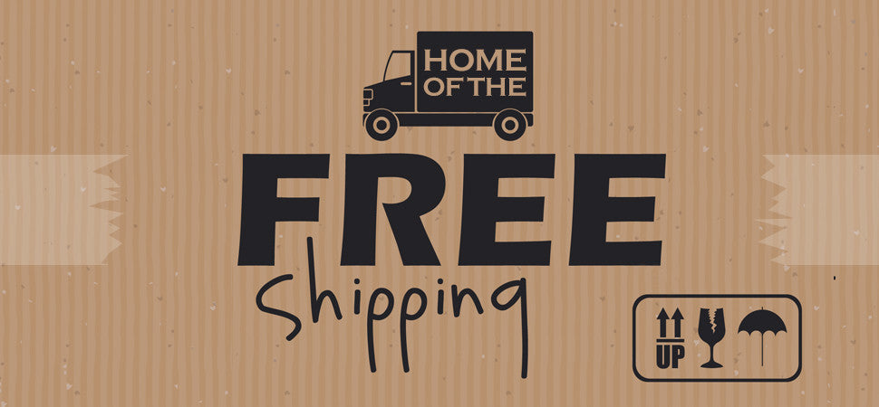 Our Shipping is Free!!!
