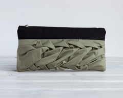The Poppy - Black + Olive|The Poppy - Črna + Olivno Zelena