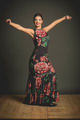 Flamenco dress Flores |  Vestido baile flamenco Flores