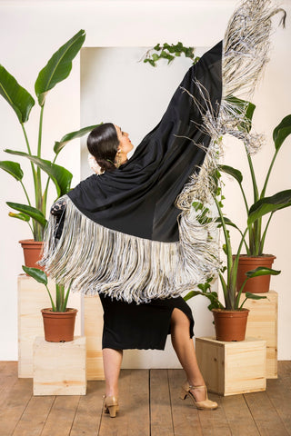 Flamenco Shawl for dance |  Mantón baile flamenco