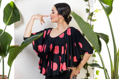 Flamenco dance blouse  | Blusa de baile flamenco